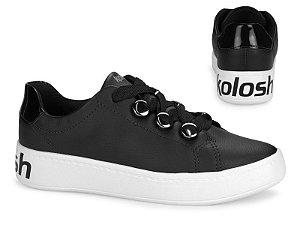 Tenis Flatform Kolosh Preto - C1328-0001