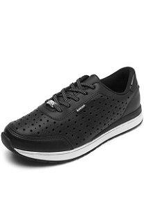 tenis jogging kolosh feminino preto - c1341-0001