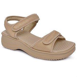 sandalia papete conforto azaleia nude - 46320321-nude