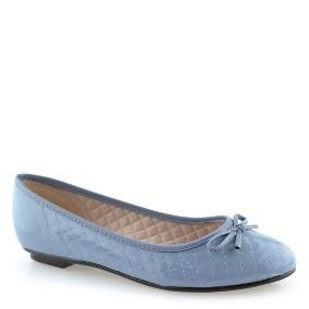 sapatilha comum moleca verniz azul claro - 50271111-vzjean