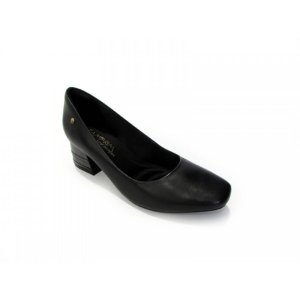 Sapato Ramarim Salto Medio Bico Chato