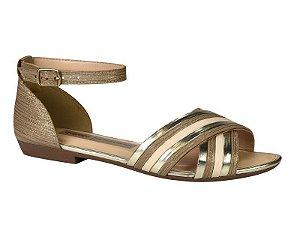 Sandalia Rasteira Dakota Ankle Strap