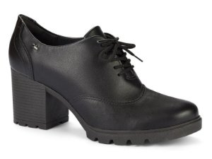 Sapato Oxford Dakota Salto Alto Tratorado