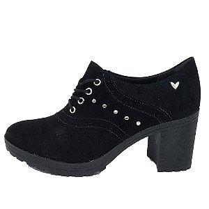 Sapato Oxford Mississipi Salto Alto Tratorado