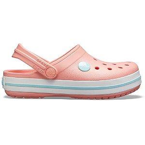 Clog Crocs Infantil Crocband Melon Ice Blue