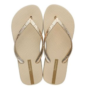 Chinelo Ipanema Silky Metalica