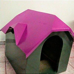 Casinha para cachorro em fibra de vidro tamanho G