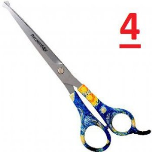 TESOURAS CURVA 7.5  PRECISION EDGE FASHION PET VARIOS MODELOS