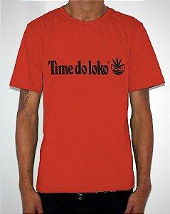 Camiseta Vermelha TIME DO LOKO