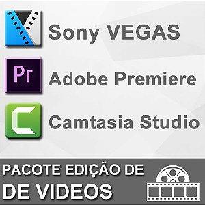 Pacote Softwares Edição de Vídeo
