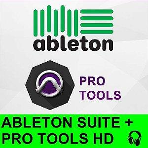 Suite Audio - Ableton + Pro Tools HD