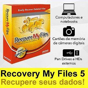 Recover My Files v5 PRO - Recuperação de Dados