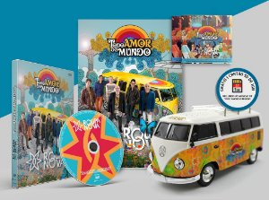 DVD + Kombi + Revista + 2 CDs - Todo Amor do Mundo