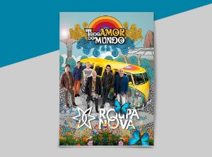 Revista + 2CDs - Todo Amor do Mundo