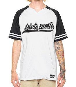 Camisa Beisebol Branca