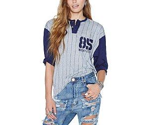 Camisa Feminia Beisebol