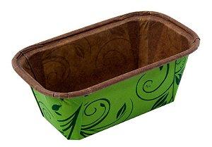 Forma Bolo Inglês Plumpy Tam. P - Verde - 10UN - R$ 0,88 Unitário