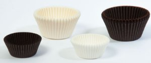 Formas para Cupcake Branca n.º 0 – Solta Fácil