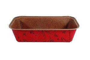 Forma Bolo Inglês Plumpy Tam. G - Vermelho - 20 UN - R$ 2,39 Unitário