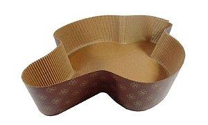 Forma Colomba Pascal  - Pomba  750 Grs. - Decorada - 5UN - R$ 3,36 Unitário