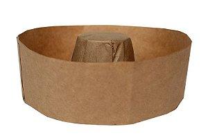 Forma Torta Suíça 500grs Pap. Kraft - Forneável – Ecopack  20UN - R$ 0,65 Unitário