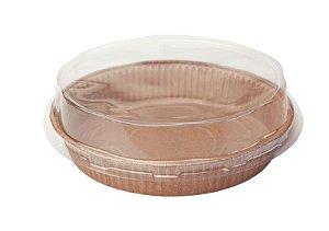 Formas para torta Tam. P COM TAMPA– Pie – 30UN - R$ 0,74 Unitário