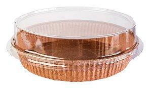 Formas p/ Torta Tam. 160x30- M - COM TAMPA – Pie – 10UN - R$ 2,64 Unitário
