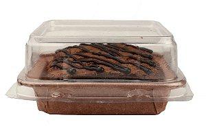 Forma forneável para Torta/Brownie Tam. P COM TAMPA– 30UN - R$ 1,07 Unitário