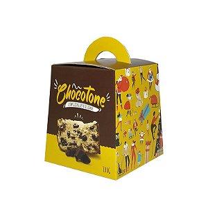 Caixa para Panetone de Chocolate -  100 Grs - R$ 1,44 a unidade