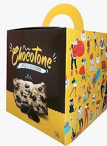 Caixa para Panetone de Chocolate -  500 Grs - R$ 2,32 a unidade