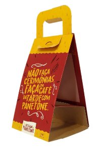 Bag para Panetone 100 Grs - R$ 1,55 a unidade