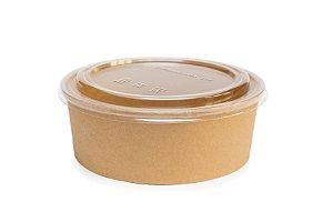 Bowls Ecopack 1000ml - Tam. 150x129x80 - c/ tampa - 24x5
