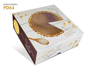 Cx Torta Neutra (21x21x7cm) - 01 unid.