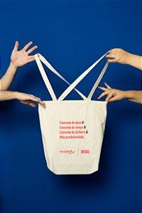 Ecobag - Economia - Vermelho - 44x39,5x44 - 01Und.