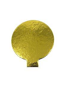 Porta Docinho Dourado - Tam. 100 mm - c/ 10 unid. - R$ 0,57