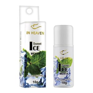 In Heaven Gel Comestível Ice 10g Menta Intt