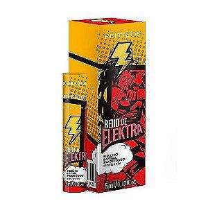 Gel Eletrizante Beijo Elektra 5ml Feitiços