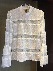 Blusa em renda white