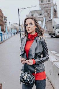 Blusa Gola Alta Vermelha