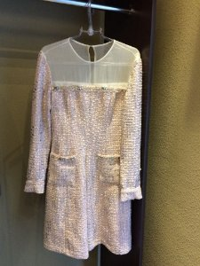 Vestido Tweed - Marca: Madrepérola