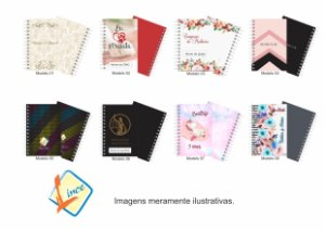 100 Mini Agendas Personalizadas 10x15 Empresas E Eventos (50 folhas)