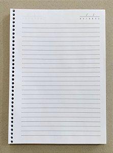 500 Miolos de Caderno 15 x 21 cm