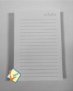 50 Miolos de Caderno 10 x 15 cm