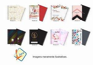 160 Mini Agendas Personalizadas 10x15 Empresas E Eventos (50 folhas)