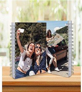 Caderno 15x21cm Personalizado - Laminação Brilho