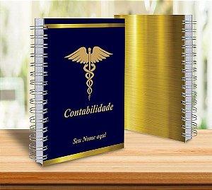 Caderno Profissões 15x21cm  Capa Personalizada