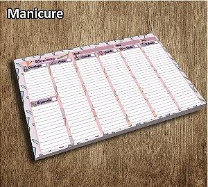 Planner De Mesa Semanal Permanente A4 (Diversos Modelos)