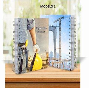 Caderno Profissões 18x25cm  Capa Personalizada
