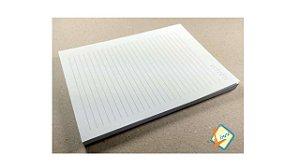 10 miolos de caderno 15x21 + 10 Pares Paraná 15,5 x 21,5 cm