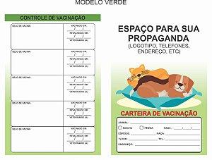 Carteirinha de Vacinação PET Personalizada